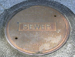 U.S. Sewer cover