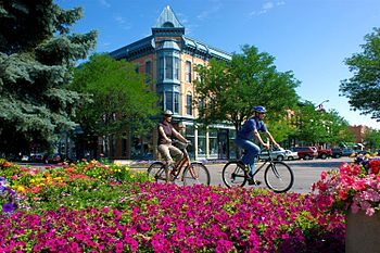 """Downtown """"Old Town"""" Fort Collins"""